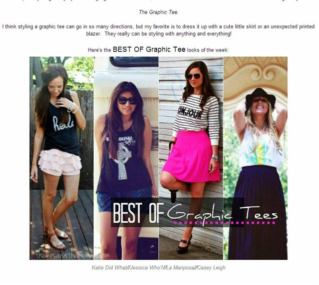 Best of: graphic tee