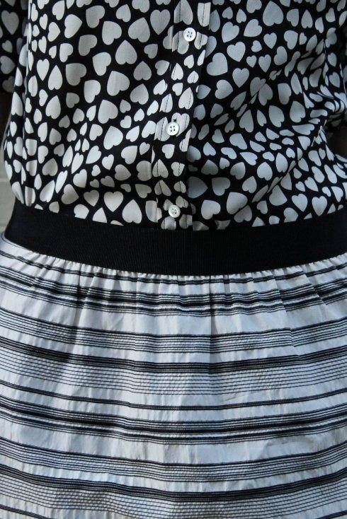 La Mariposa: Black & White Mixed Media