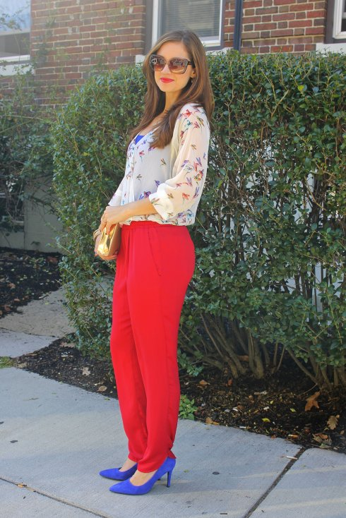 La Mariposa: Red Pants