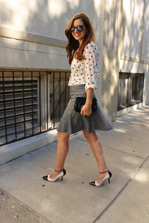 La Mariposa: Polka Dots & Tweed