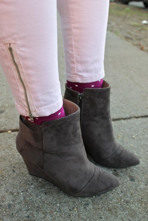 La Mariposa: Polka Dot socks