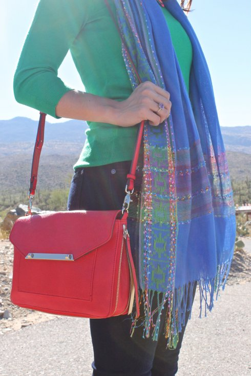 La Mariposa: Red, Blue & Green