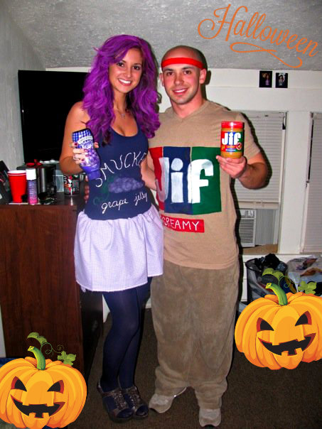 PB n J Halloween Couples Costume