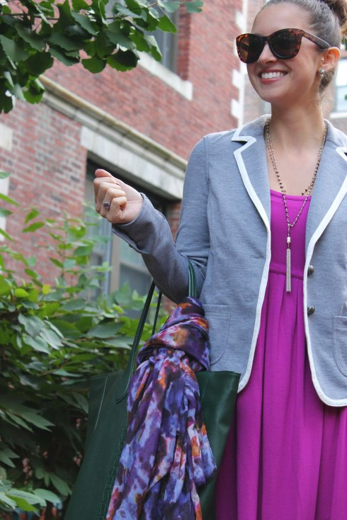 La Mariposa: Schoolboy Blazer and booties