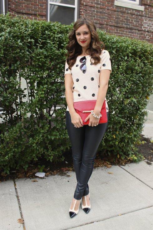 La Mariposa: Sequin Polka Dots