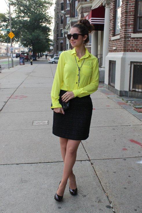La Mariposa: Neon & Tweed