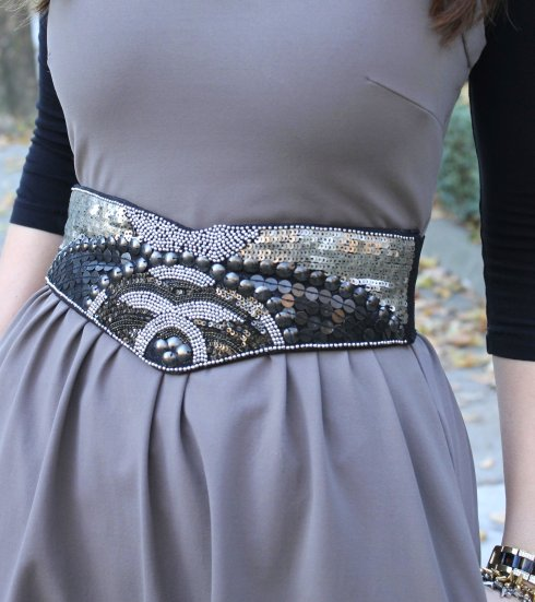 La Mariposa: beaded belt
