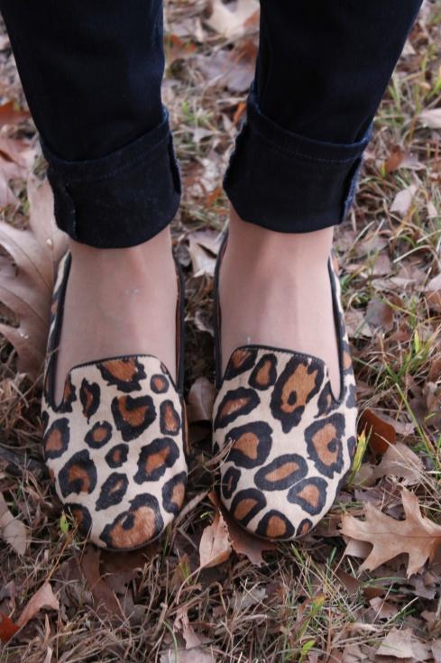 La Mariposa: Leopard Loafers