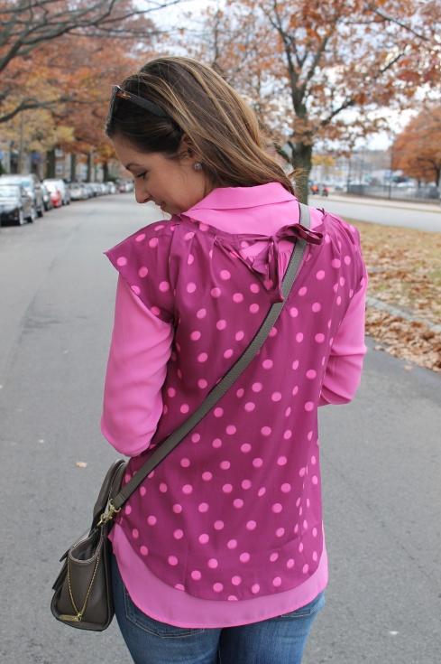 La Mariposa: Playful Pink Polkadots