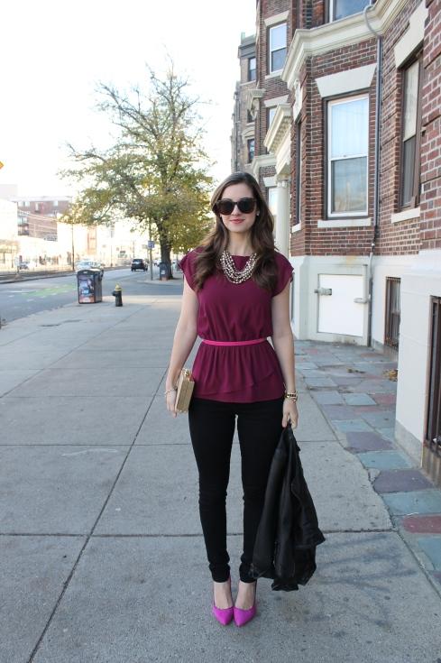 La Mariposa: Dressed-up Skinny Jeans