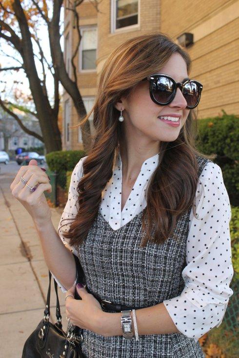 La Mariposa: Tweed & Polka dots