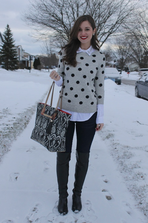 Bedazzled Polka Dots